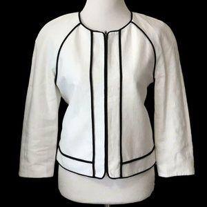 J.Crew Factory Suiting Women's Linen Jacket Size 6